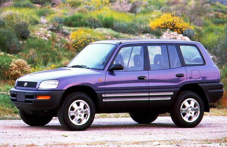 Toyota RAV4, heralding the crossover, is released in Japan in 1994