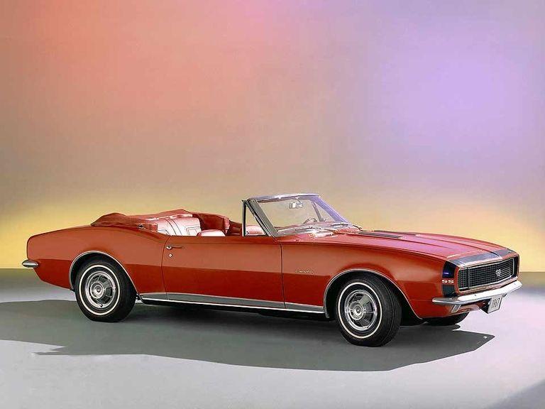 Chevy Camaro, in 1966, vrooms into U.S. showrooms
