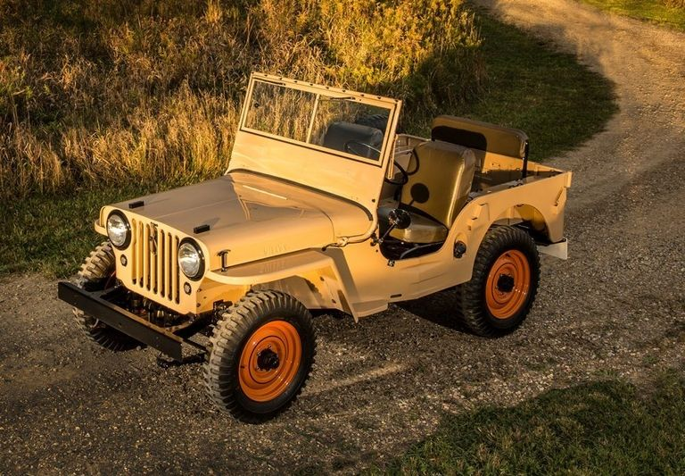 Output of the first Jeep CJ-5 begins