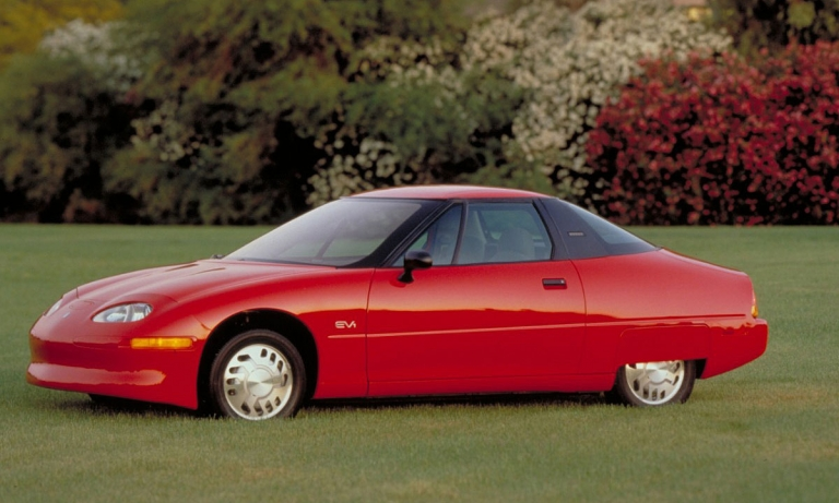 GM launches the EV1 and learns a lesson