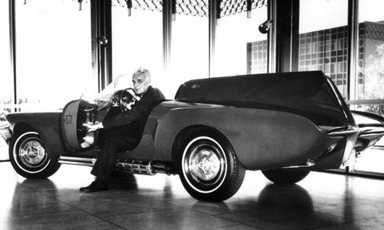 Virgil Exner, noted Chrysler designer who shook up 1950s styling, is born