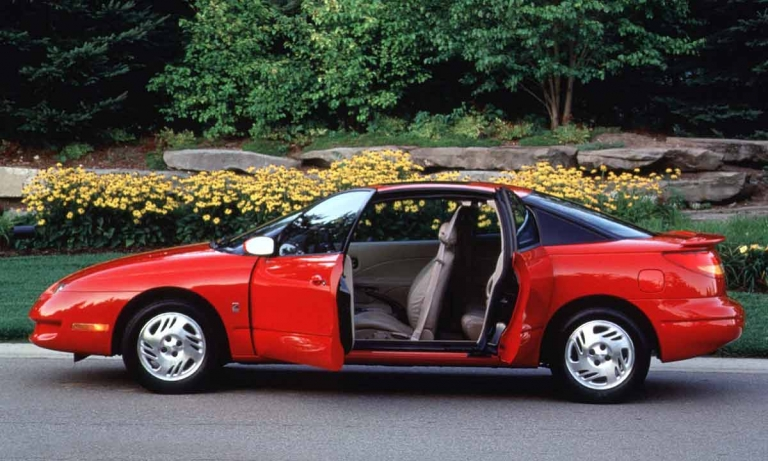 Saturn pads coupe with extra door
