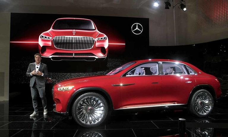 Mercedes-Maybach bets on a hybrid SUV-sedan