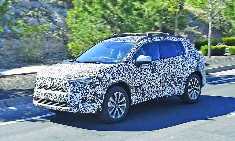 The Toyota Corolla Cross has been spied testing. Production is to start this year.