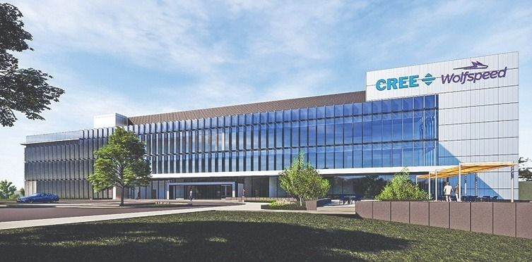 Cree is building a 480,000-square-foot wafer fabrication facility in Marcy, N.Y.