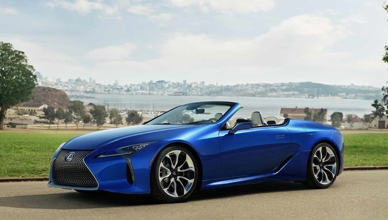 2021 Lexus LC 500 convertible: A future hall of famer?