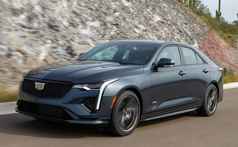 2020 Cadillac CT4-V: A thoroughbred lands new chops
