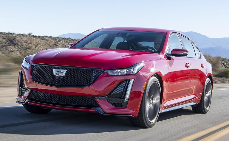 2020 Cadillac CT5-V: Lots of fury