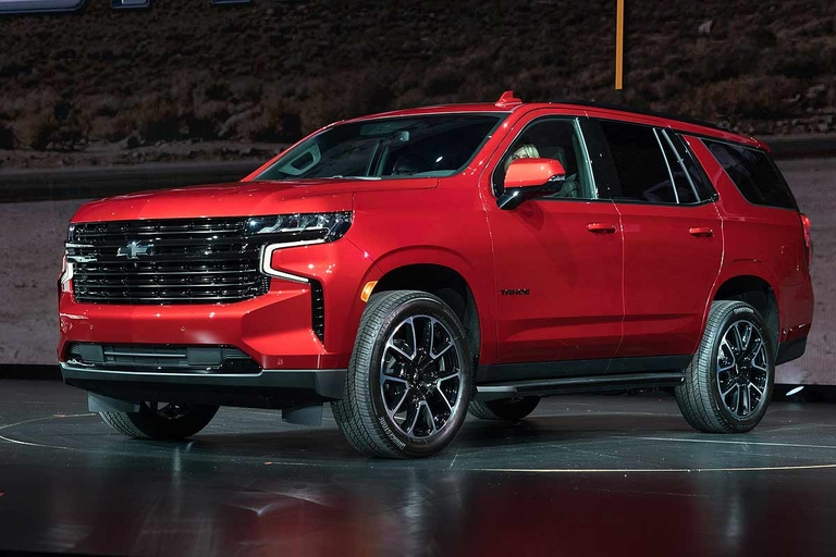 Chevy's biggest SUVs redesigned with more space, tech