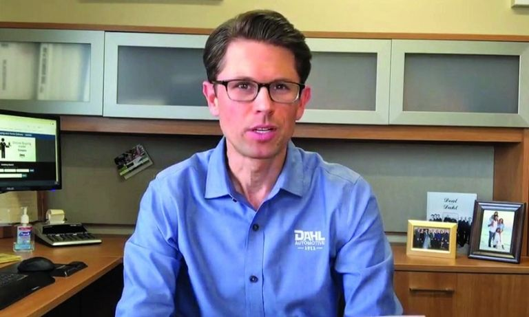 Dahl Automotive President Andrew Dahl and his family members established the One Team Fund with $50,000 to help employees during the pandemic. He announced the effort via video.