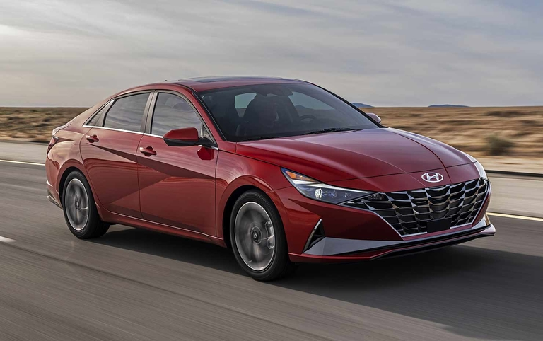 Hyundai's next-gen Elantra comes creased, connected
