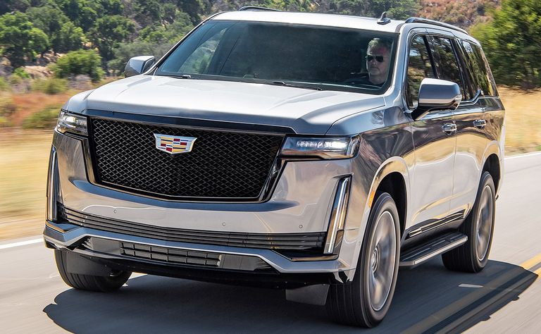 2021 Cadillac Escalade: 6,000 pounds of beauty, beast