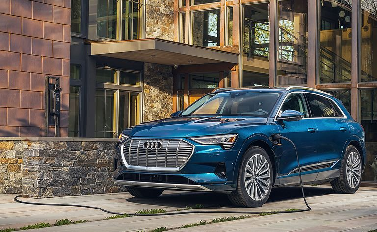 Audi cuts price of E-tron by $8,800, improves range