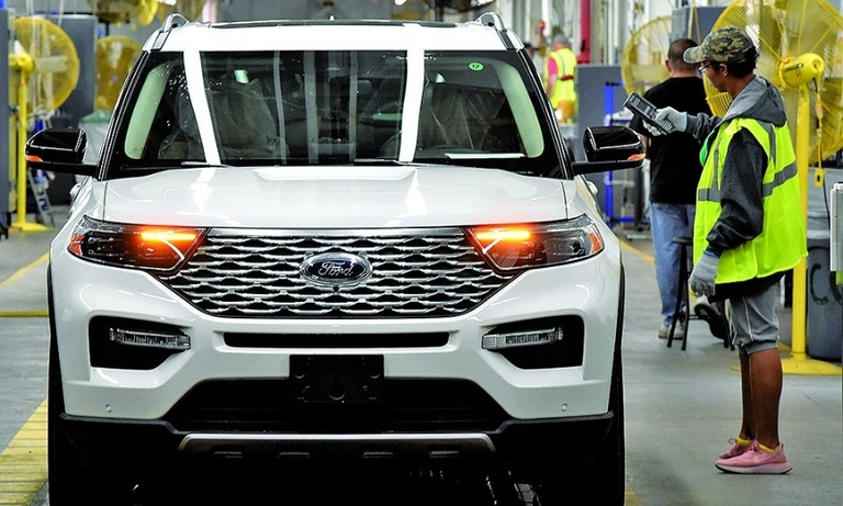 The 2020 Ford Explorer was one of 57 vehicle launches this year. That number is expected to drop in 2020.