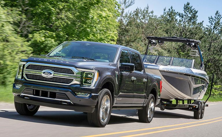 2021 Ford F-150 PowerBoost: Brawny and green