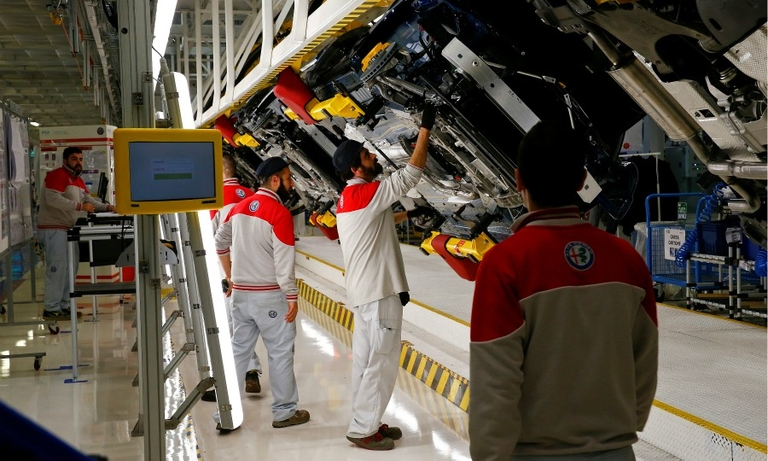 Fiat Chrysler plant in Italy hit by strike after death of worker