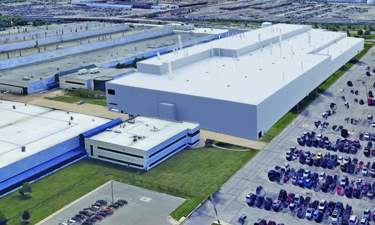 FCA's Mack Avenue plant, shown in a rendering, will pump out Jeeps.
