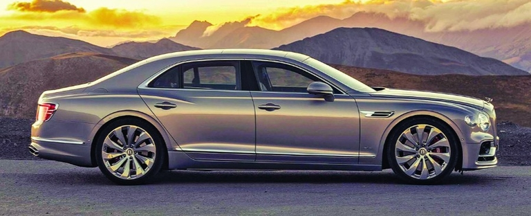 The Flying Spur will cost less than Maybach and AMG versions of the Mercedes S class.