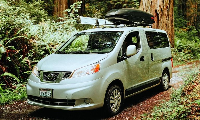 The Free Bird camper van, based on the Nissan NV200 cargo van, was Caravan Outfitter's first offering in 2017.