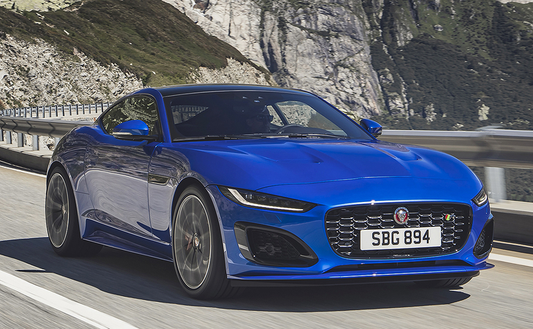 Jaguar keeps F-Type coupe starting price at $62,625 for 2021