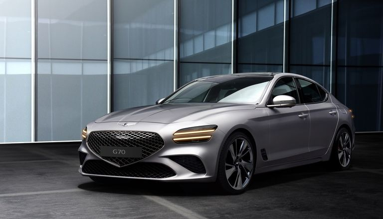 Genesis G70 face-lift brings Quad Lamps to bestseller