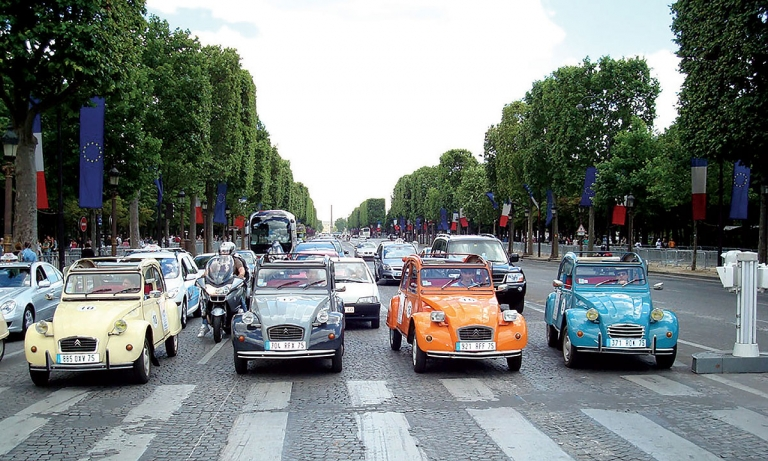 Paris classics become weekend drivers only