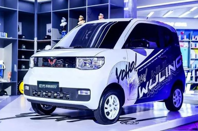 GM venture's minicar was China's most-sold EV in August