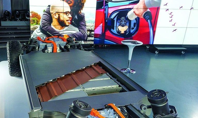 General Motors' modular platform and Ultium battery system