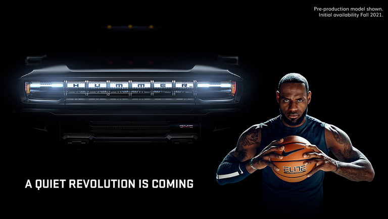 GMC Hummer EV LeBron James