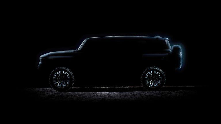 GMC's electric Hummer SUV set for April 3 debut