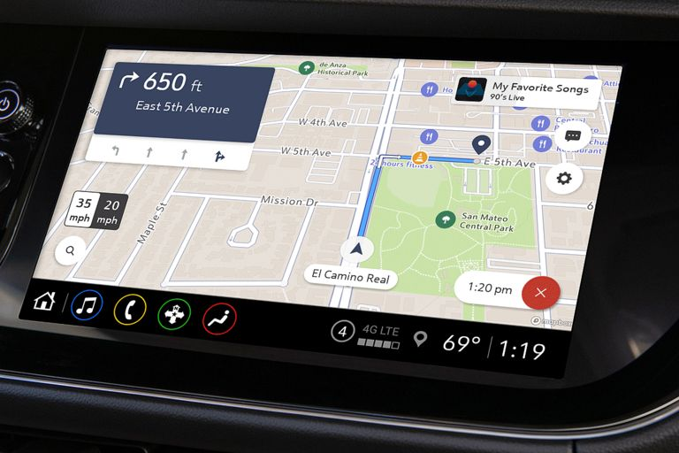 GM to launch new in-vehicle navigation system