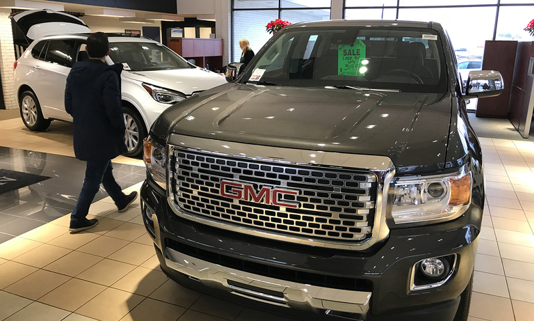 GM: 2019 starts with a decline