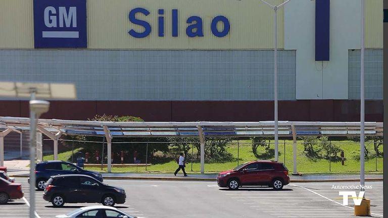 GM's plant in Silao, Mexico