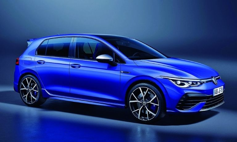 The new Golf R features torque-vectoring all-wheel drive.