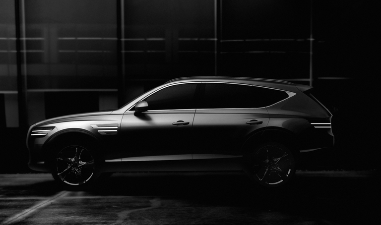 Genesis gives glimpse of GV80 crossover; Korea sales start this month