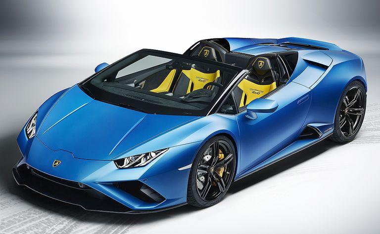 Lamborghini adds rwd variant to Huracan Evo Spyder