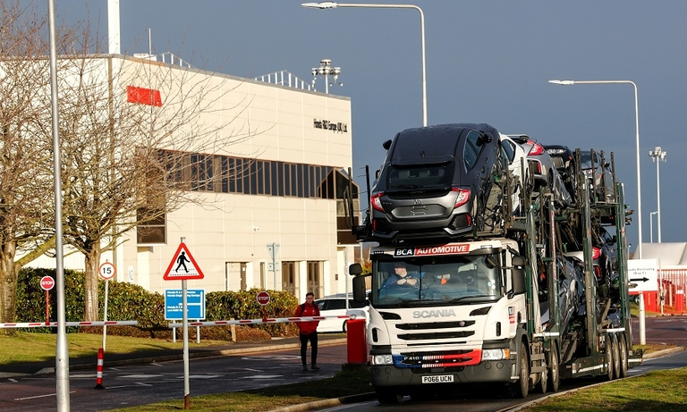 Honda's plant in Swindon, England