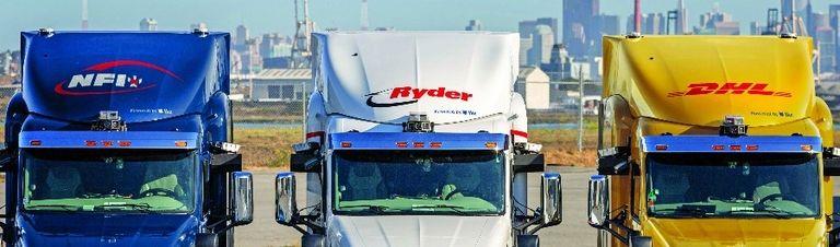 NFI, Ryder and DHL have reserved tractors with Ike's self-driving system.
