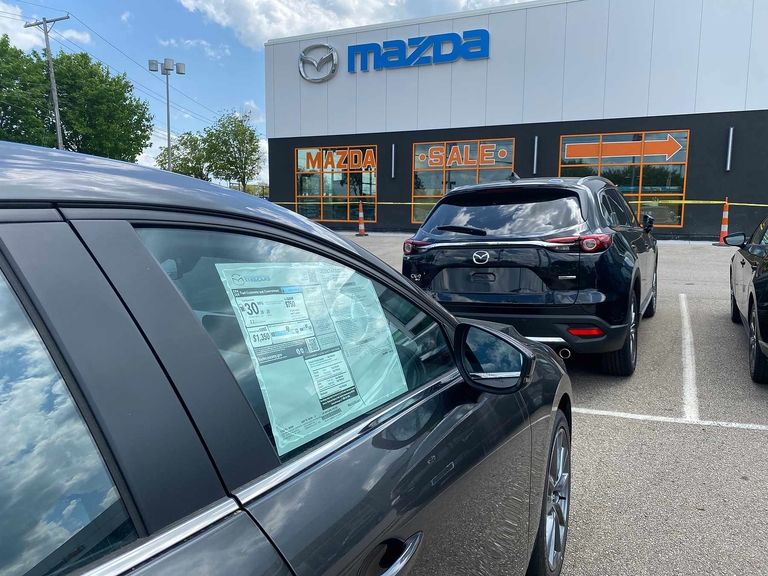 Sales declines ease at Toyota, Honda, Hyundai, Subaru