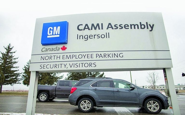 CAMI Assembly plans to start building electric vans this year for BrightDrop.