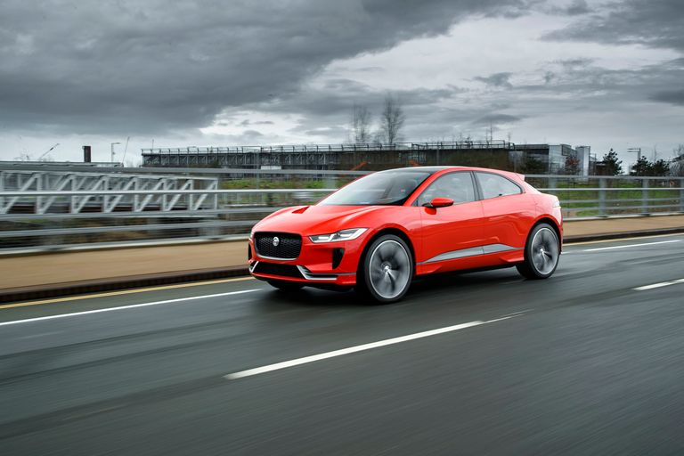 Jaguar to test wireless charging of I-Pace taxi fleet