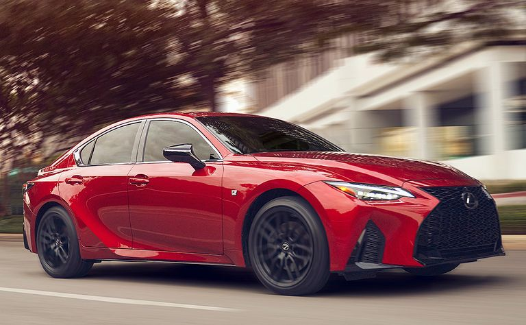 2021 Lexus IS 350: Stuck in a middle groove
