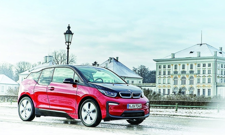 The construction of BMW's i3, 
