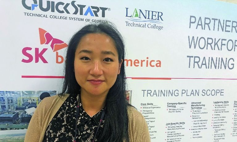 """I do miss the in-person interviews. It's a lot better in person, of course. Usually in those live interactions, I can gauge the chemistry."" Jade Park, human resources manager, SK Battery America"
