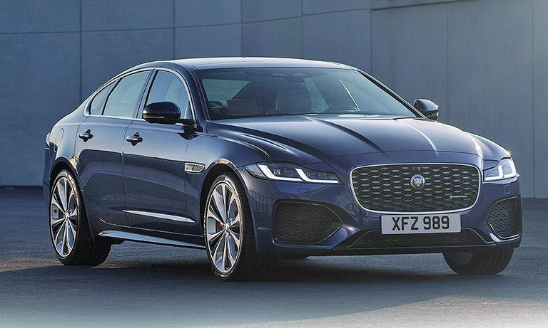 Jaguar is expected to unveil its new XJ sedan this year as a rival to the Tesla Model S.