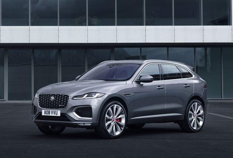 Jaguar overhauls F-Pace crossover