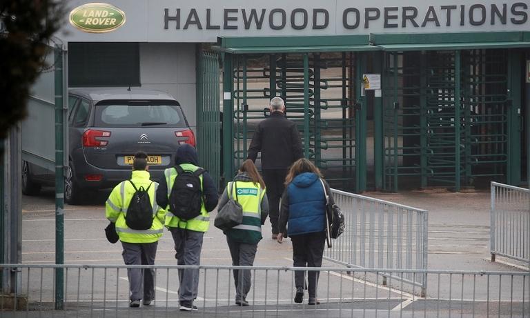 Jaguar Land Rover Halewood plant