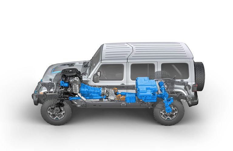 Jeep Wrangler plug-in rated at 25 miles of electric range