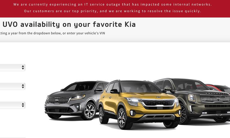 Kia systems outage hobbles dealers, owners
