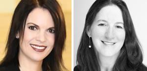 Lara Koslow, left, and Martha Blue